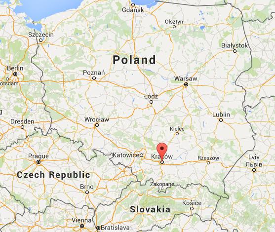Southern Poland Map.Krakow Southern Poland S Visual Gem Image Earth Travel