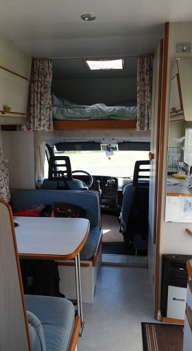 motorhome, Bude, UK, camping, touring
