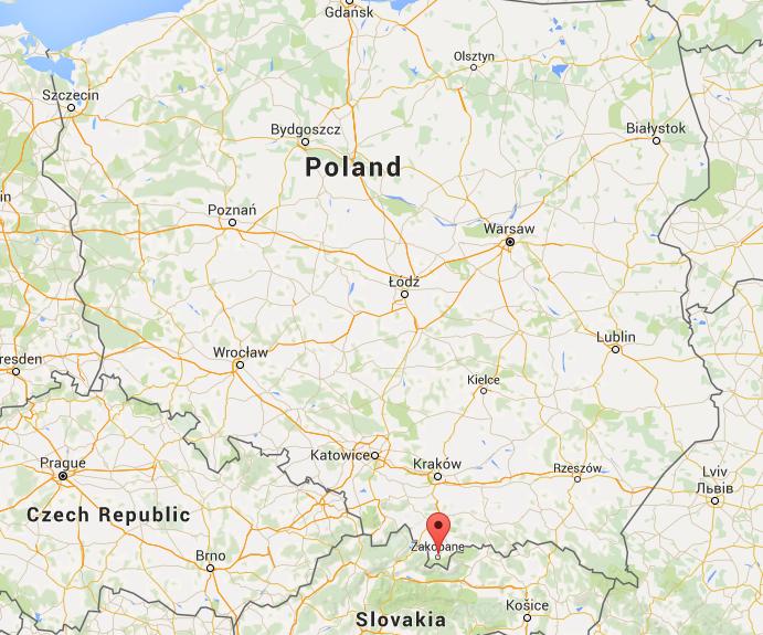 Southern Poland Map.Stunning Zakopane Southern Poland S Tatras Mountains Image Earth