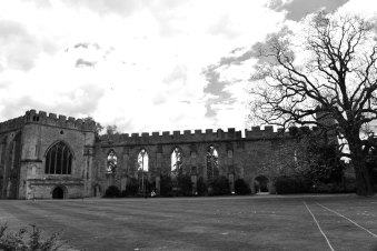 Chapel, Great Hall, Wells, somerset, england