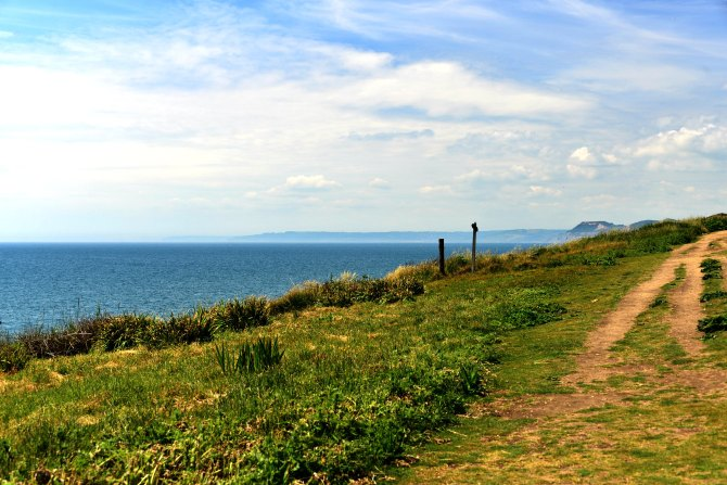 UK, Dorset, coastal walk