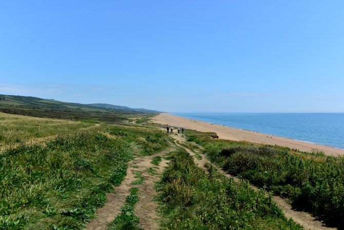 Freshwater Bay, UK, walks