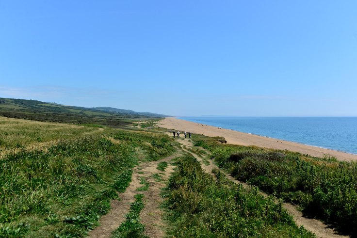 Freshwater Bay, UK, walks