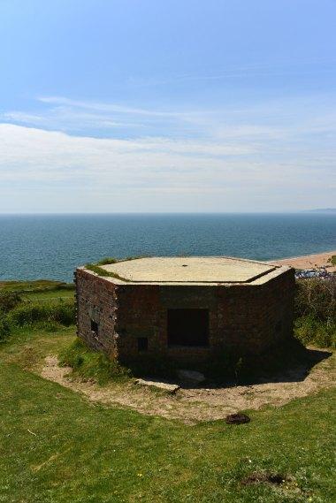 Pillbox, UK, coastal walks, Freshwater