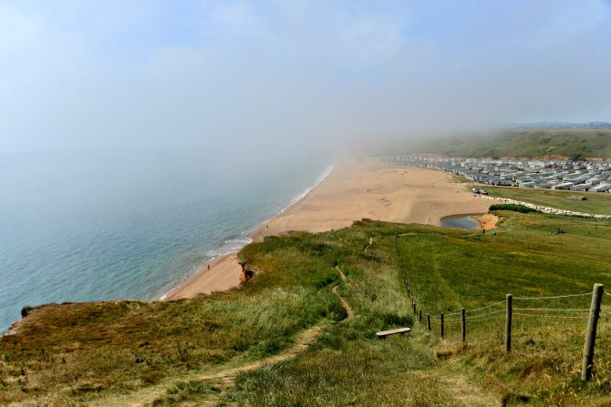 Freshwater, campsite, UK, coastal walks, Dorset