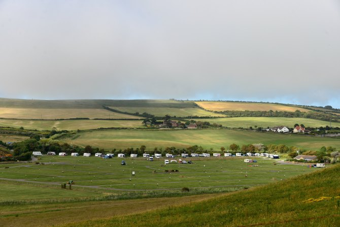 Freshwater, campsite, touring, UK
