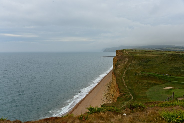 golf course, coastal walk, UK, Dorset