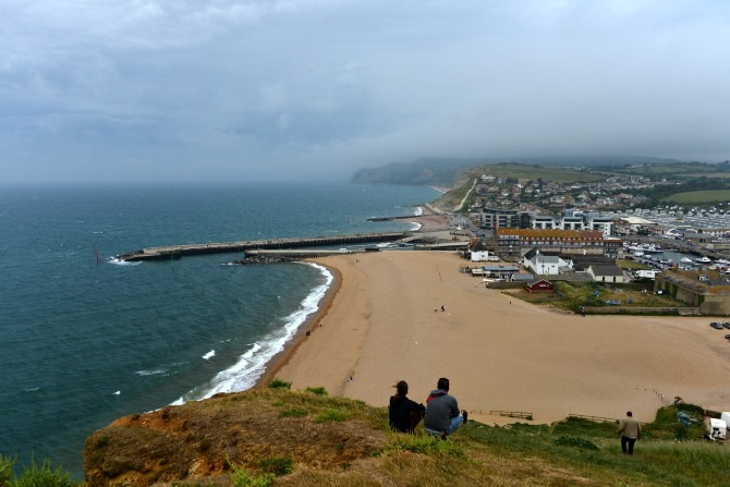 West Bay, UK, Coastal Walk