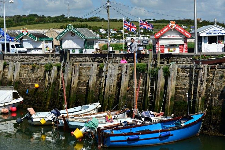 West Bay, UK, Dorset,