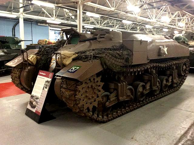 tank, sherman, bovington, england