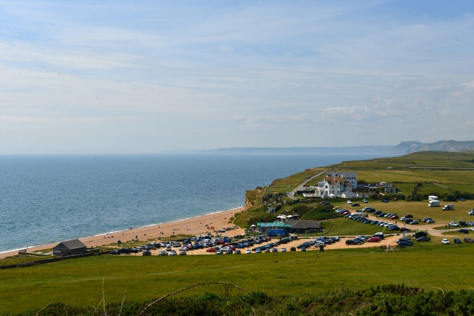 hive beach, UK, touring, burton bradstock, coastal walk