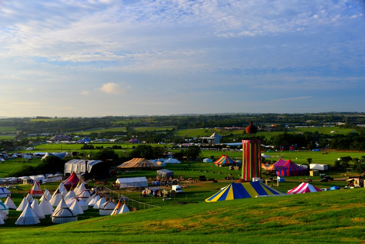 Glastonbury, festival, england, somerset