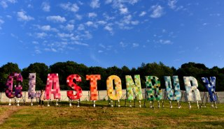 glastonbury, festival, somerset, england