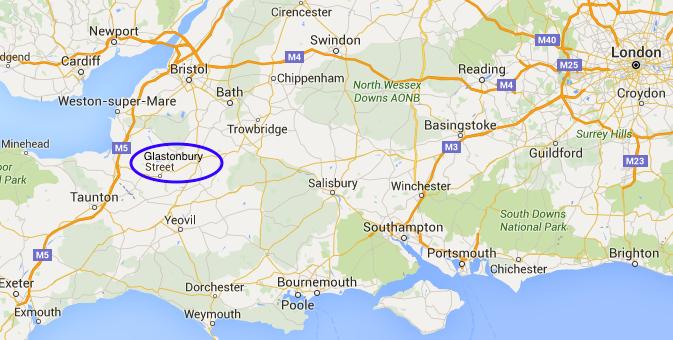 Mythical Glastonbury England S Somerset Image Earth Travel