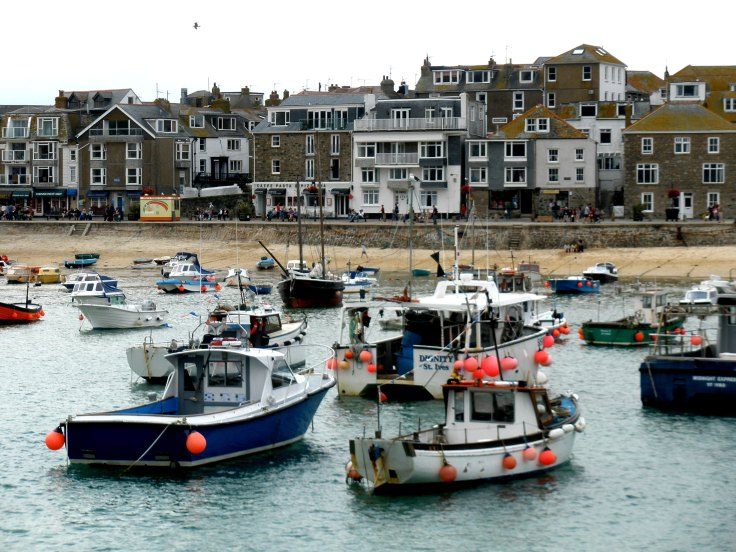 st ives, england, touring, cornwall