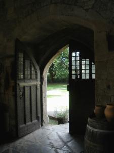 glastonbury, england, abbot's kitchen