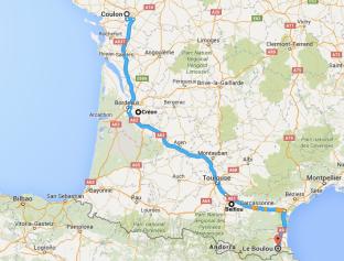 Creon, Belflou, Boulou, France, touring