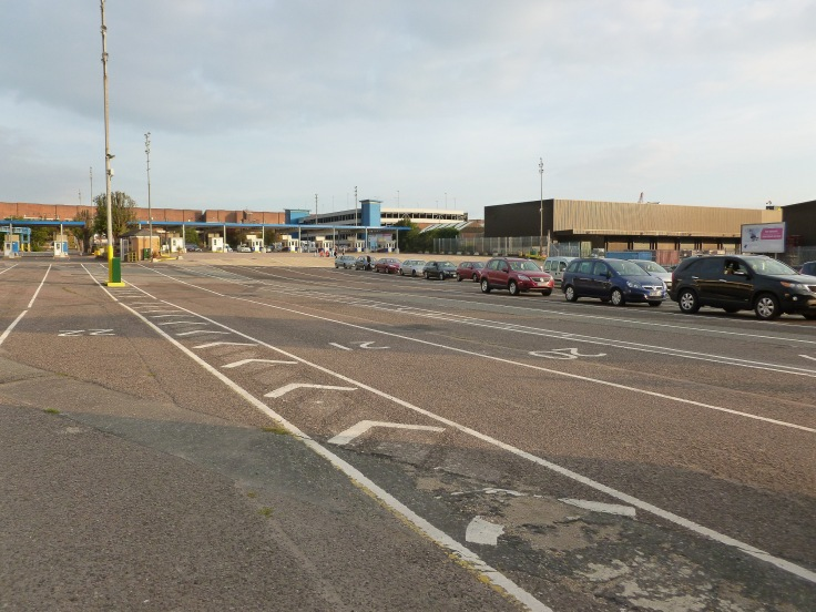 portsmouth, ferry terminal, united kingdom