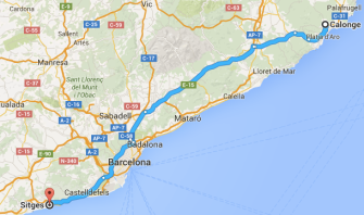 Calonge Sitges, Spain, motorhome