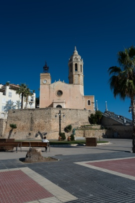 Sitges, Spain, motorhome, La Punta