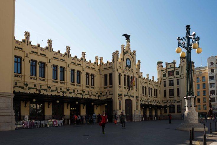 valencia, spain, motorhome, touring, train station