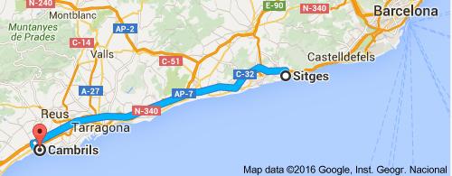 Catalonian Coast Cambrils And Tarragona Image Earth Travel