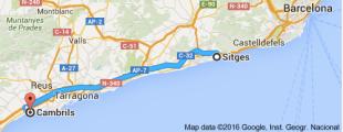 Sitges, Cambrils, Spain, Motorhome