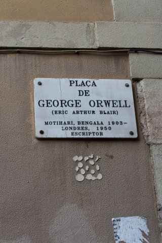 Spain, Barcelona, touring, Orwell