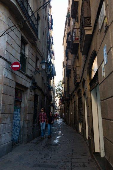 Spain, Barcelona, alleys