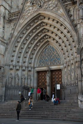 Spain, Cathedral, touring