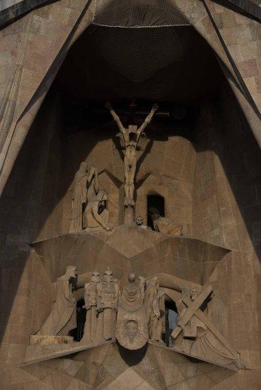 Spain, Barcelona, touring, motorhome, Sagrada Familia