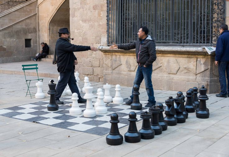 Chess, Spain, Barcelona