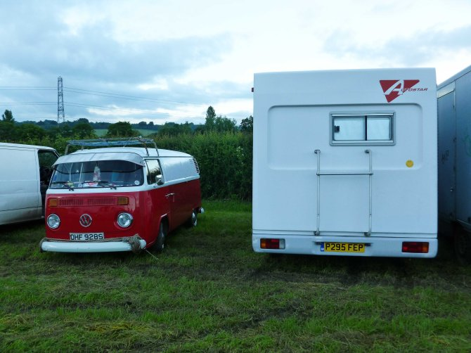 Glastonbury festival, england, motorhome, touring