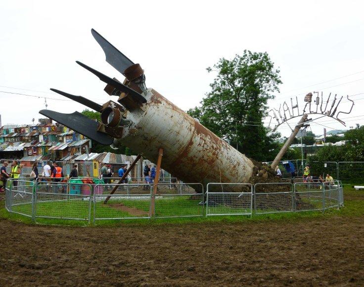 Glastonbury Festival, england, motorhome