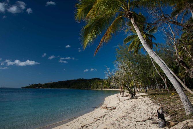 Rurugo Bay, Blue lagoon, Fiji, sailing