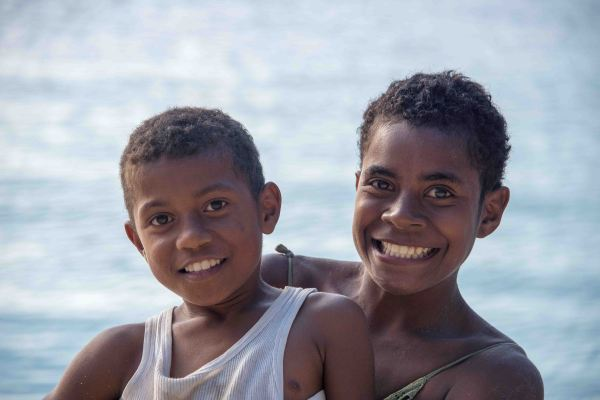 Fiji, children