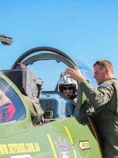 Jet Fighter ride, Australia, adrenalin