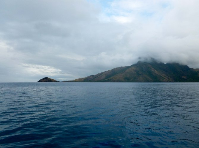 Yalobi Bay, Fiji, sailing