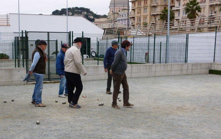 Genoa, Italy, motorhome