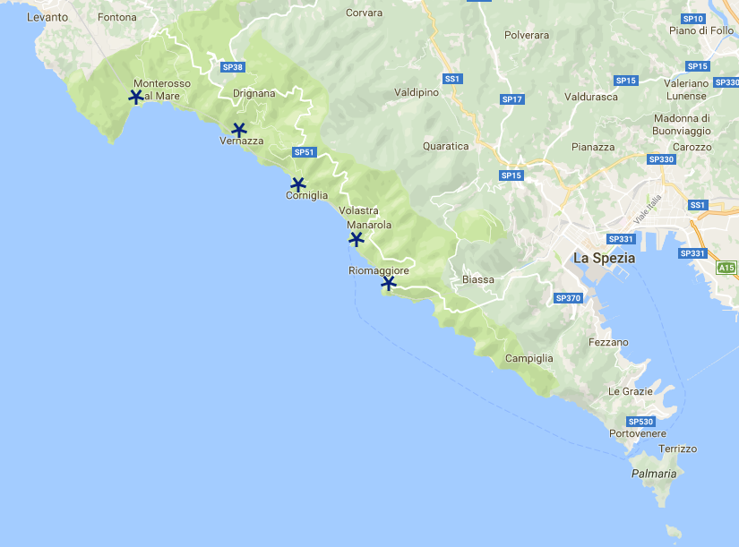 Corniglia Italy Map.Italy S Spectacular Cinque Terre What S Not To Love Image Earth