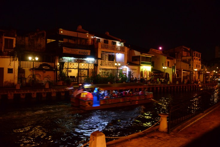 Malacca, canal, boat, tours