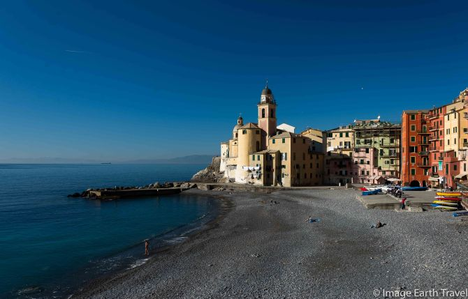 CInque Terre, Camoglio, Italy, motorhome, camping, seafront