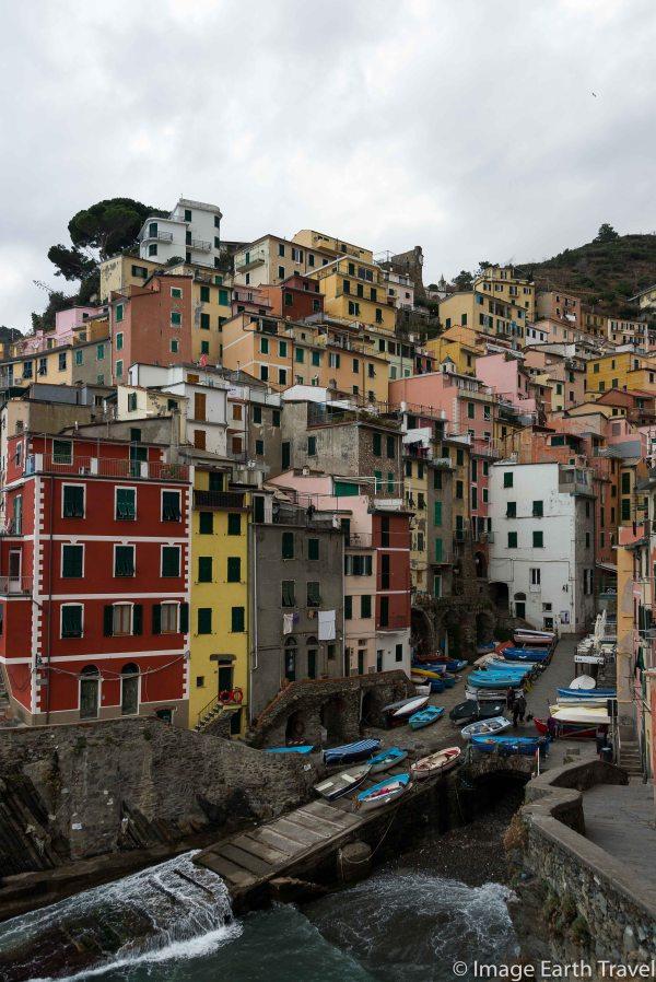 Corniglia, Cinque Terre, Italy, motorhome, camping