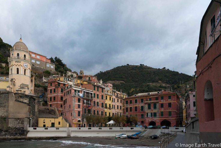Vernazza, Cinque terre, Italy, motorhome, camping