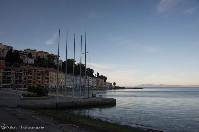 Porto Santo Stefano, Italy, motorhome