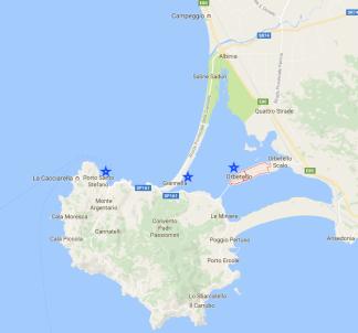 Orbotello, Giannella, Port0 Santo Stefano