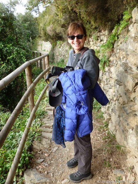 Monterosso, Cinque terre, Italy, motorhome, camping