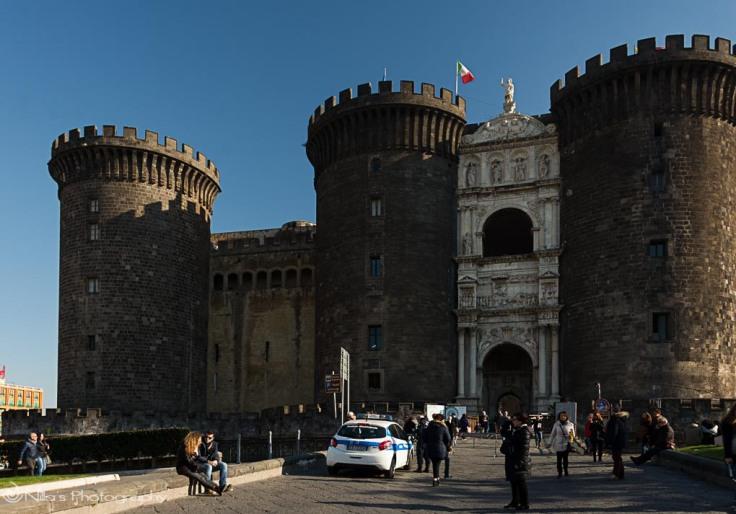 Castle, Naples, Italy