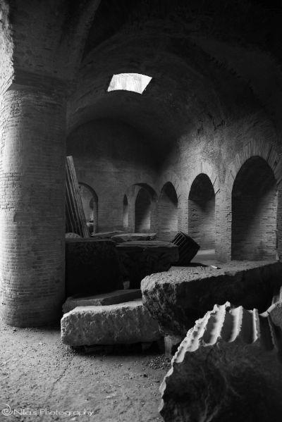 Pozzuoli Anfiteatro Flavio e Serapeo, Pozzuoli, Italy