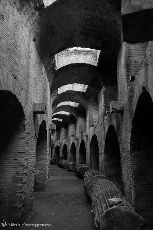 Pozzuoli Anfiteatro Flavio e Serapeo, Pozzuoli